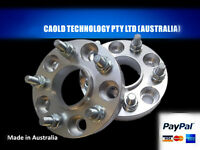Spacer Adapters 15 mm 5x120.65 to 5x120 Hub Centric 2 PCS Holden Commodore VE VF