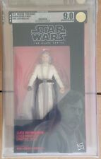 "Star Wars Black Series 6"" Luke Skywalker Jedi Master AFA 9.0 U 90 Uncirculated"