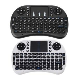 2.4G Wireless Air Keyboard Mouse Qwerty Remote Touchpad For Android TV BOX