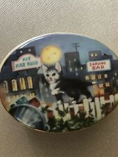 Music Box Alley Cat By Coby Carlson Kitten Concert Music Box Collection