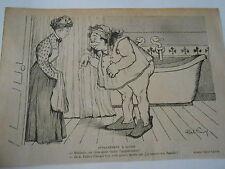 Appartement à louer !!  Humour image print 1900