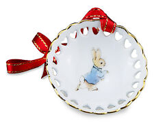 Peter Rabbit Mini Cut Out Bowl Hanging Decoration NEW in gift box
