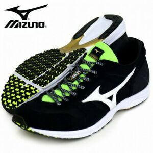 MIZUNO Running Shoes WAVE EMPEROR 3 J1GA1975 Black Made In Japan With Tracking