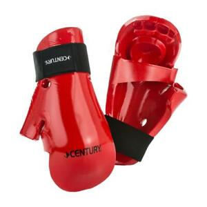 Century Martial Arts Sparring Gloves Red Adult M/L New Karate Tae Kwon Do