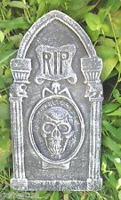 Tombstone concrete plaster mold casting halloween mould