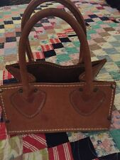 Vintage L.L. Bean Small Leather Tote Ammo Bag Tool Satchel