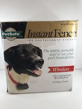 New listing New PetSafe Pif-300 Wireless Fence Pet Containment System Transmitter + Collar