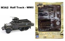 NEWRAY New Ray Toys 1:32 CLASSIC TANK MODEL KIT - M3A2 Half Track WWII AS-61537