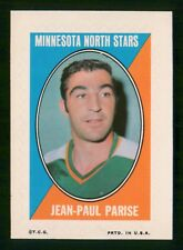 JEAN-PAUL PARISE 1970-71 TOPPS/O-PEE-CHEE STICKER STAMPS 70-71 NO 25 VGEX+ 35034