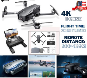 4K Holy Stone HS720E/HS105 Foldable Drone with UHD EIS Camera GPS FPV Quadcopter