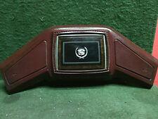 1985 - 1991 Cadillac Eldorado Deville steering wheel horn button pad Maroon