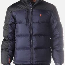 POLO RALPH LAUREN MENS RL/250 DOWN PARKA PUFFER JACKET COAT NAVY black SZ LARGE