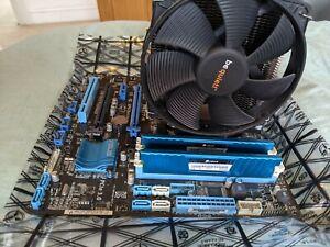 Motherboard bundle | I5-3570K | 8gb DDR3 | Asus P8Z77-M m-ATX | be quiet cooler