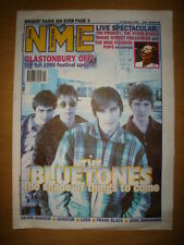 NME 1996 JANUARY 13 BLUETONES OASIS PRODIGY ROSES MANICS