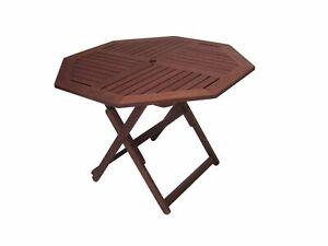 Tropical Octagonal Folding Table