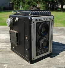 Vintage Spartus Full-Vue Box Camera 120 Film Top View Chicago Made In USA