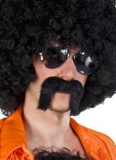 schwarzer Bart Zuhälter Schnurrbart Schnauzer Karneval Fasching