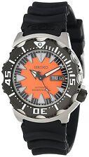Seiko Men's SRP315 Automatic Divers Orange Dial Black movement Japan