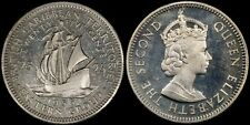 BRITISH CARIBBEAN TERRITORIES 25 CENTS 1955 (PROOF) *ONLY 2,000 MINTED*