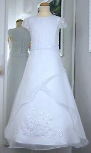 Kommunionkleid Festkleid Kommunionskleid Taufkleid first communion dress *Lea