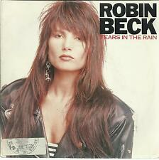 45 TOURS /  ROBIN  BECK   TEARS IN THE RAIN