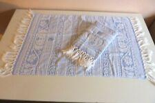 Serviettes de toilette avec franges vintage lot de deux réf 241/12 B/CH