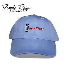 "Purple Reign ""CACTUS JACK"" ASTROWORLD Dad Hat (jordan 4 Travis Scott Embroider )"
