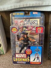 MARVEL LEGENDS-Weapon X(Wolverine)Action Figure+Comic Book/Giant Man Series*New*