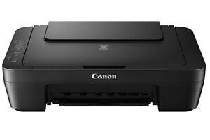 Canon PIXMA MG2550S All-in-One Colour Printer no inks