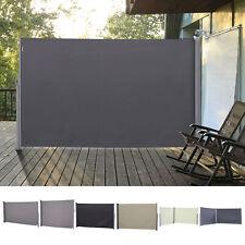 Outsunny Doppel-Seitenmarkise Sichtschutz Polyester 3 Farben 5 Größe