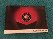 Gilera Runner SP 50 owners manual