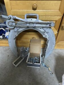 "Mathey Dearman 2SA Manual Saddle Pipe Beveling Machine 6""-12"""