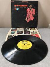 Live In Europe LP by Otis Redding Vinyl Stereo 1967 Volt S 416 Records