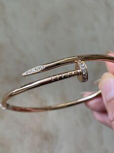 Juste Un Clou Cartier Nail Bangle - 18k Rose Gold