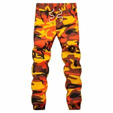 Men's Jogger Pants Woven Casual Tactical Military Trouser Pockets Cotton Clothes