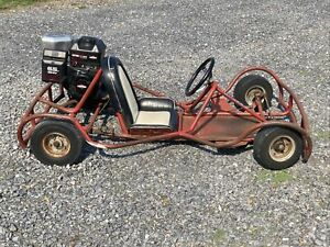 1960 Vintage Hoffco Rent A Go Kart 1 Original Owner for 60 Years Very Fast