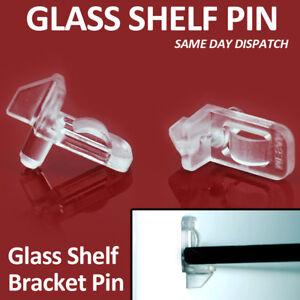 12 X GLASS SHELF SUPPORT PIN SHELF BATHROOM CABINET UNIT CUPBOARD SAFETY PEGS