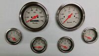 6 gauge Shark mechanical speedometer set STREET ROD HOT ROD, UNIVERSAL