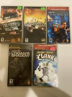 PSP Game Lot Bundle - Twisted Metal Secret Agent Clank Need For Speed Dark Mirro