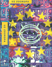 U2 ZOOROPA CASSETTE ALBUM HOLLAND  Abstract  Pop Rock  Synth-pop  Experimental