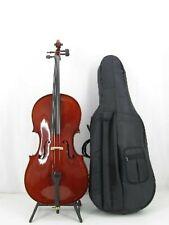 Stagg VNC-1/2 Vollmassives Cello mit Ahorn Korpus + Tasche + Bogen