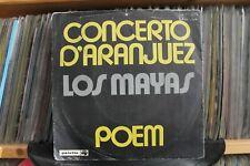 """7"""" Single Los Mayas - Concerto D'Aranjuez / Poem"""