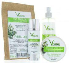 Anti Acne Tea Tree Serum + Toner + Tea Tree Cream + Peel off Mask in Set