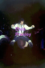ELVIS PRESLEY IN GYPSY SUIT UNIONDALE NY JULY 1975 CONCERT TOUR PHOTO CANDID