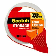 Scotch Long Lasting Storage Shipping Packaging Tape 188 X 382 Yd 1 Roll Wit