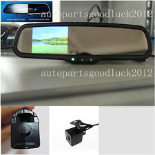 "Auto dimming rearview mirror+3.5""LCD+camera,fit Honda Civic,Accord,Ridgeline,UK"