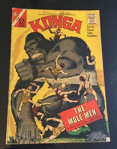 KONGA #10 January 1963 CHARLTON COMICS STEVE DITKO GIANT GORILLA