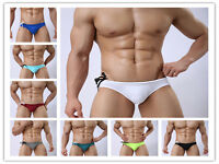 New men swimwear swim underwear Briefs Bikini  Beachwear swimming trunks S-XL