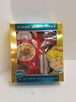 Vintage Mirro Aluminum Like Mother's Miniatures Coffee set (RARE)