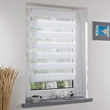 Klemmfix Doppelrollo Duo Rollo, Montage ohne Bohren für Fenster und Türen